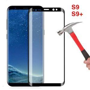 Samsung Galaxy S8 S8+ S9 S9+ Plus 3D Full Screen Tempered Glass
