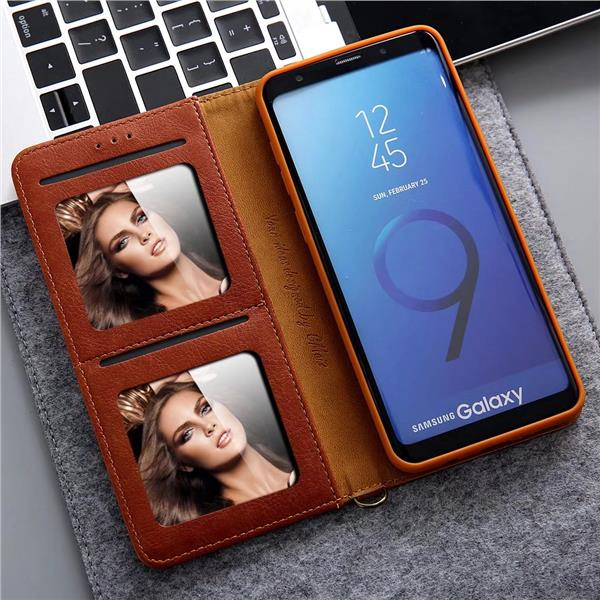 Samsung Galaxy S8/S8+/S9/S9+ wallet leather phone protection casing