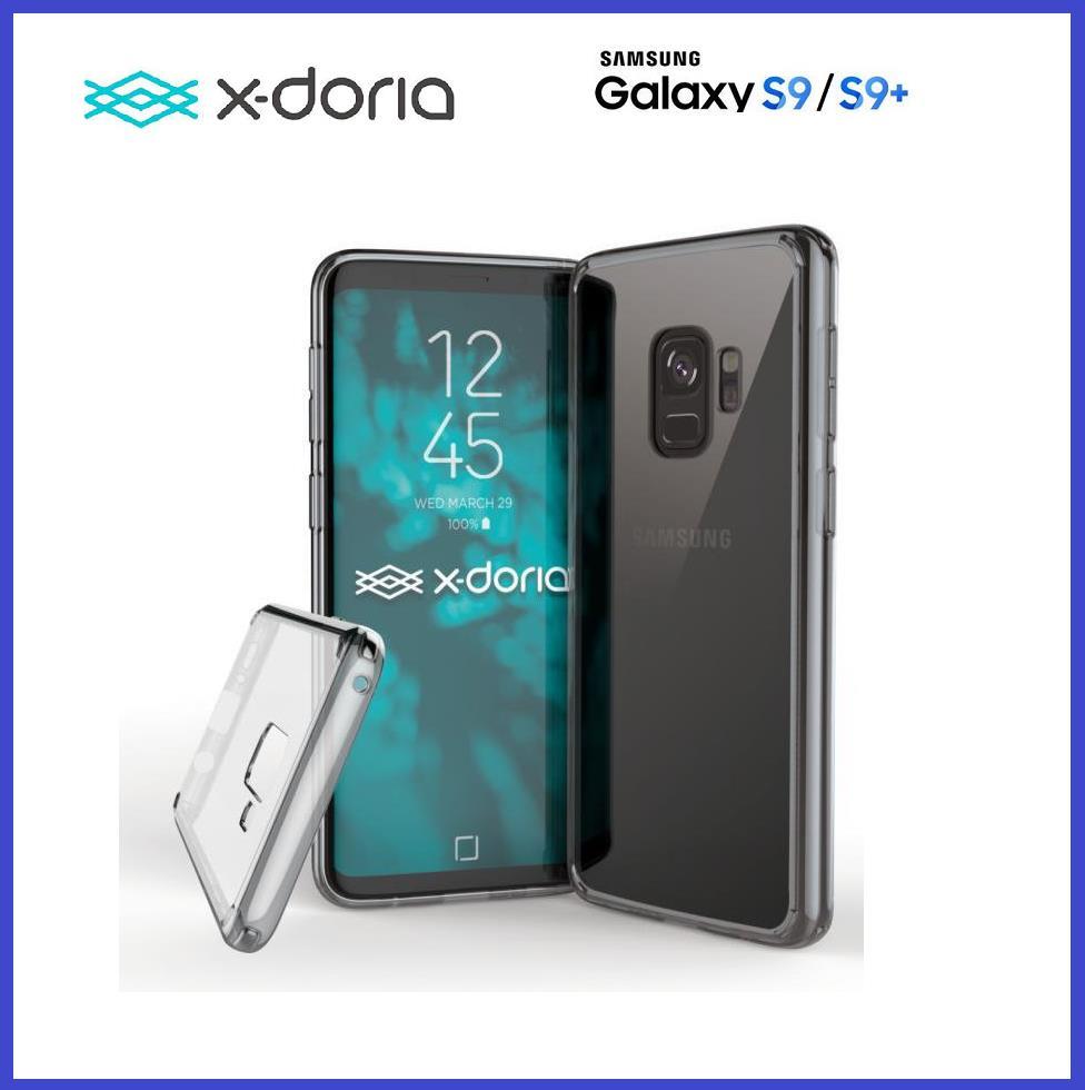 check out 666d6 3a7d5 Samsung Galaxy S9 / S9 Plus X-Doria Clearvue case bumper cover Origina