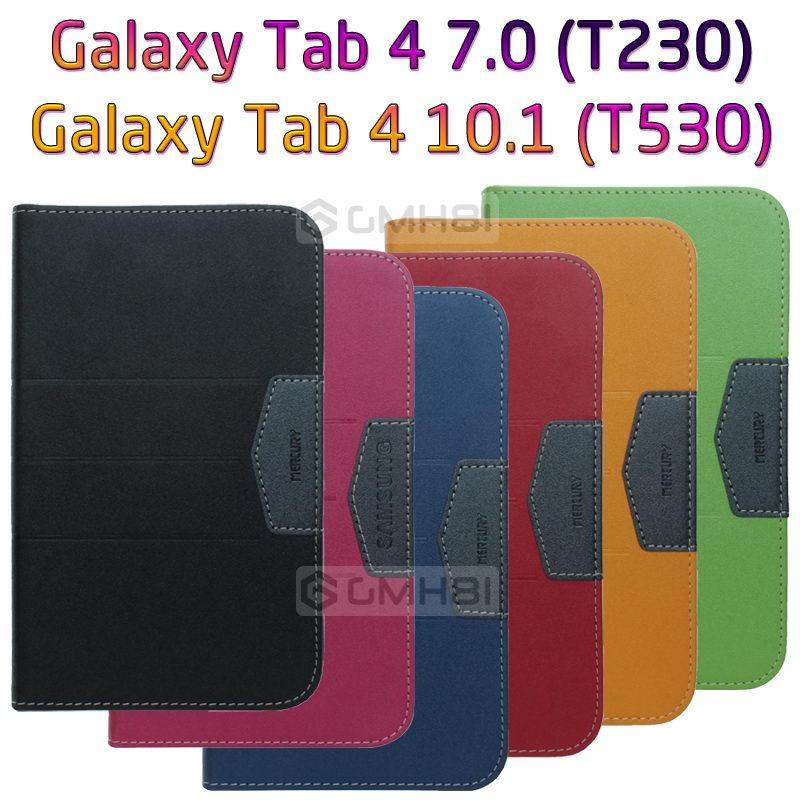 competitive price bb5dc a0049 Samsung Galaxy Tab 4 7.0 T230 T231 Wallet Flip Cover Case Pouch Bag