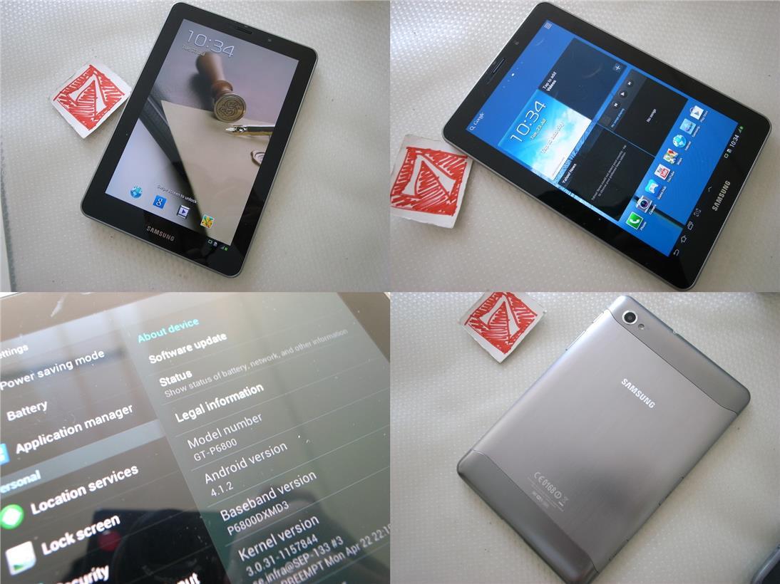Samsung Galaxy Tab 7.7 P6800 16GB Super AMOLED Android Phone Rm580. ‹ ›