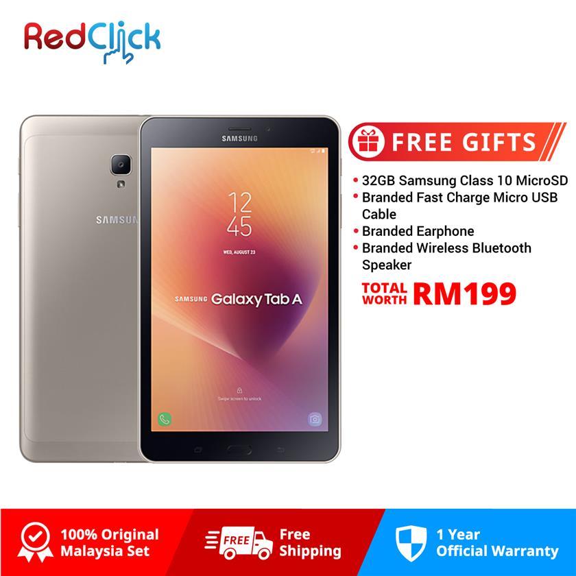 Samsung Galaxy Tab A 8 0 (2017) / T385 (2GB/16GB) + 4 Free Gift Worth
