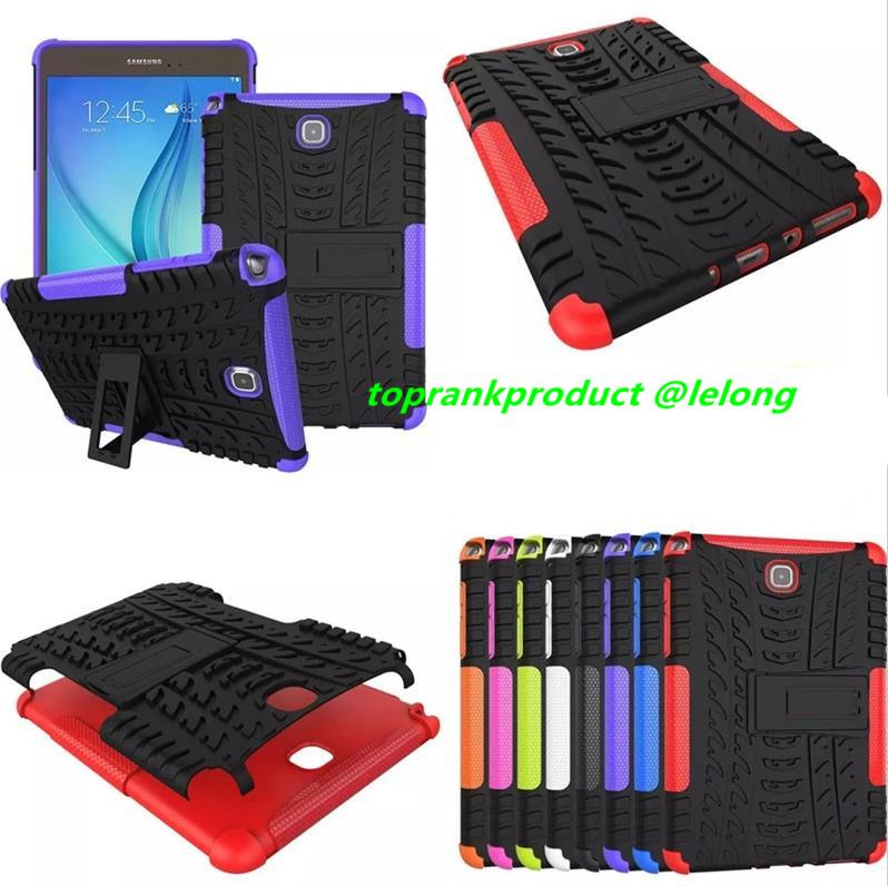 Samsung Galaxy Tab A 8.0 P355 T355 T350 Armor Back Case Cover Casing