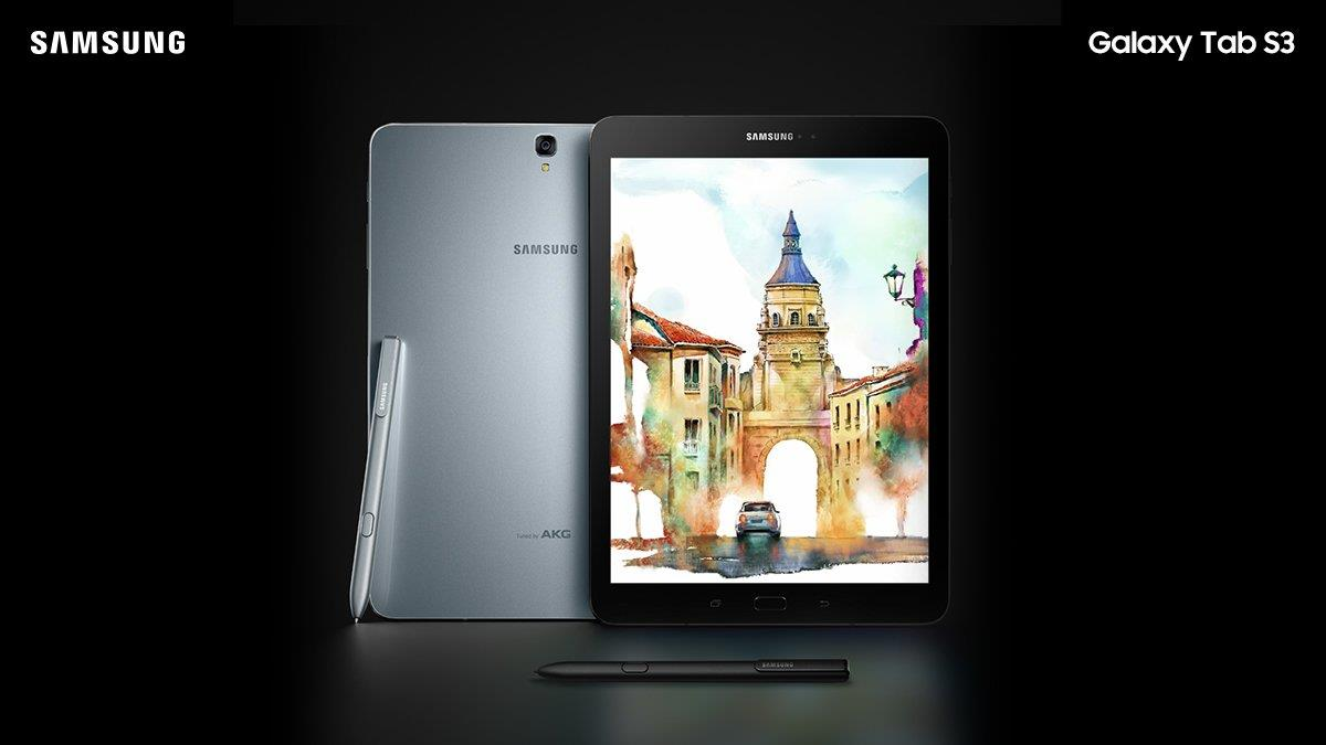 Samsung Galaxy Tab S3 9.7 Malaysia Set + Free Original Book Cover