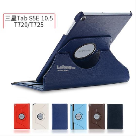 SAMSUNG GALAXY TAB S5e SM-T725 casing pu leather flip cover rotatable