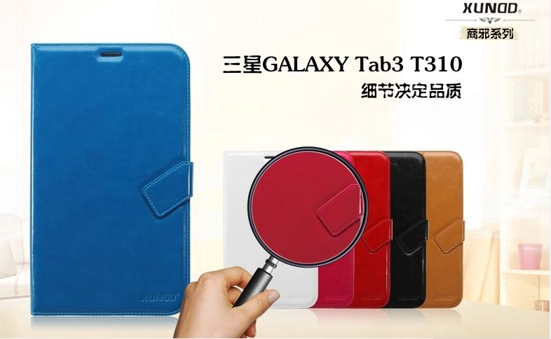 SAMSUNG Galaxy Tab3 8.0 T311 T310 Leather Case Cover