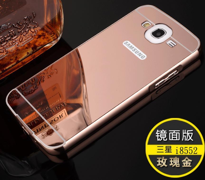 Samsung Galaxy Win i8552 24K Mirror Metal Frame Case Cover Casing