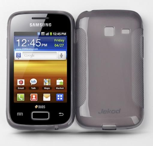 SAMSUNG GALAXY Y DUOS S6102 JEKOD TPU CASE WITH SCREEN PROTECTOR