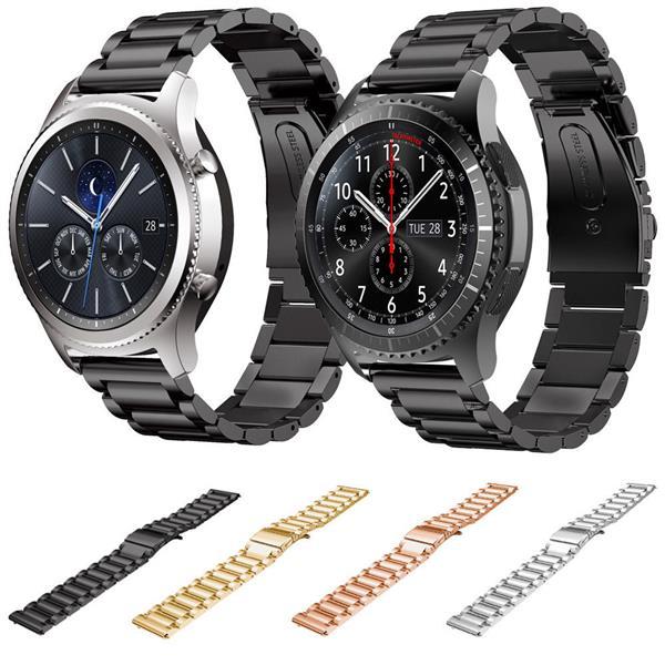 design de qualité dee42 cbf68 Samsung Gear S3 Classic Frontier Stainless Steel Strap Band Bracelet