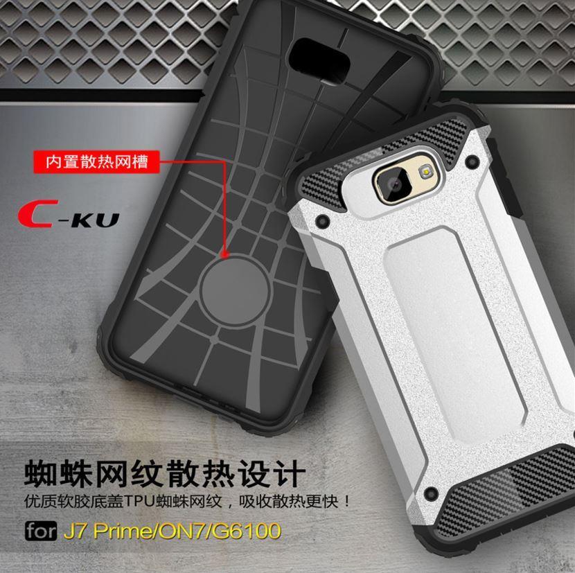 5c802cbd7c3 Samsung J2 J5 J7 Prime Spigen Tough Armor Hybrid Shockproof Case Cover. ‹  › .