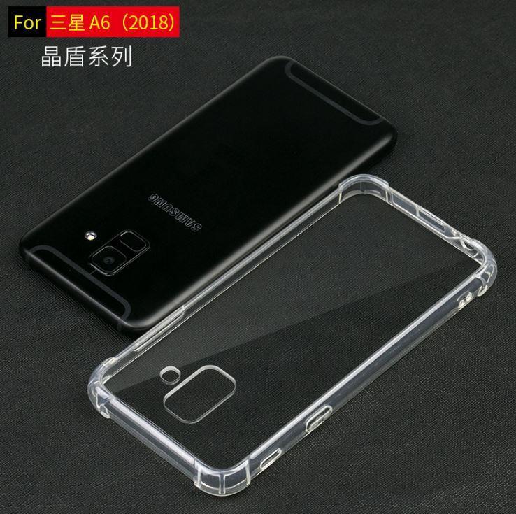 newest 5a82a 4d9db Samsung J2 Pro J4 J6 A6 A6 Plus 2018 Antidrop TPU PC Hard Case Cover