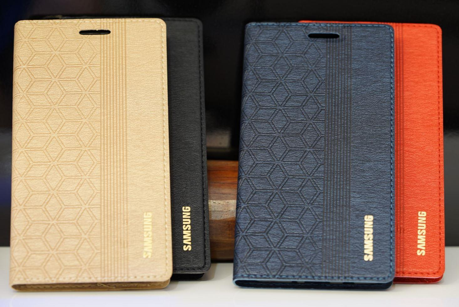 buy online 60f3b 856a2 Samsung J3 J5 J510 J7 J710 Prime 2016 Trendy Standable Flip Case Cover