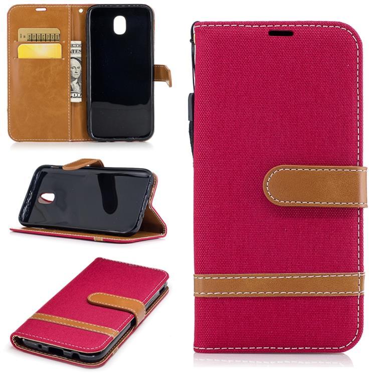 hot sale online bbadc 5d3da Samsung J3 Pro 2017 J330 Korea Card Holder Flip Case Casing Cover
