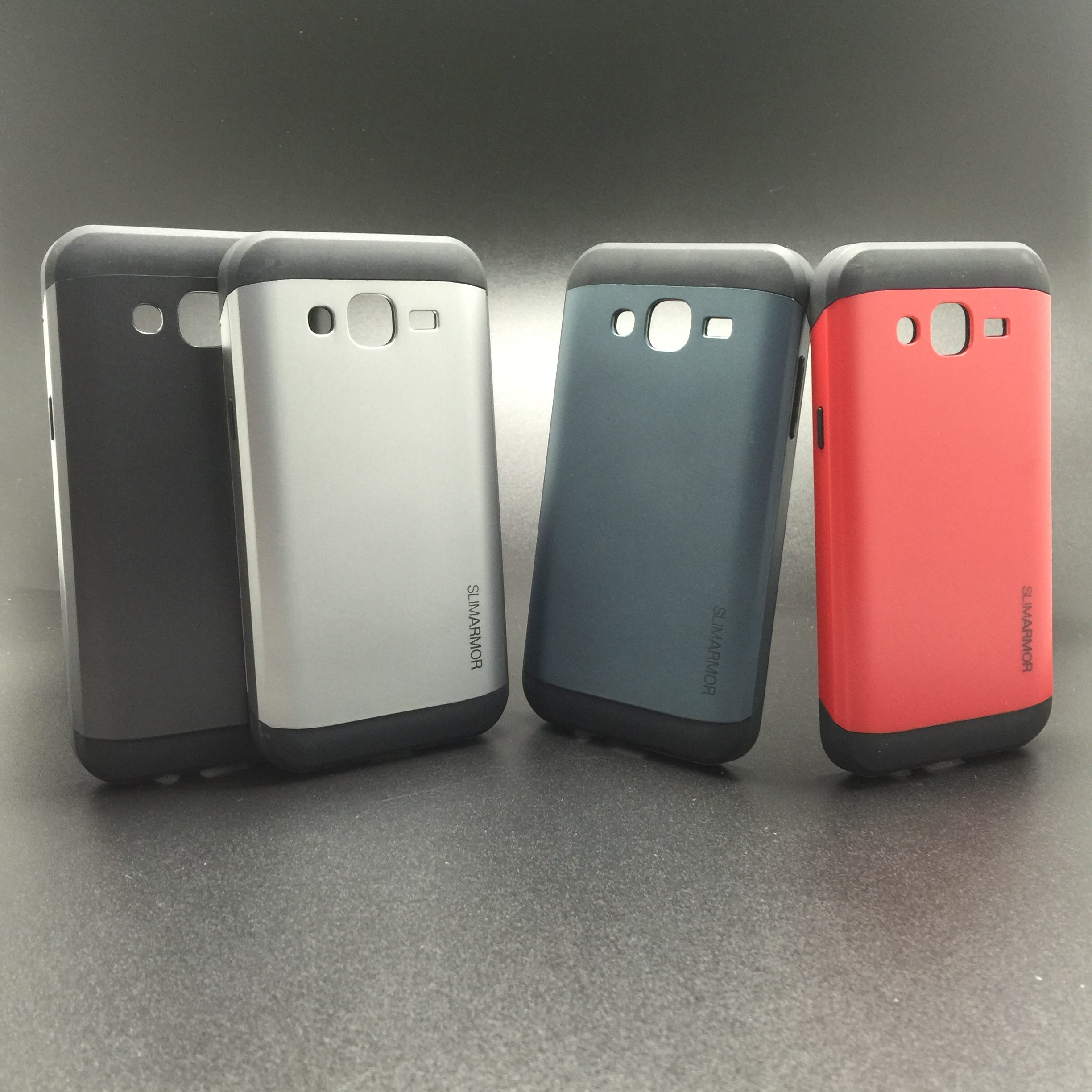new product 2b65f 39983 SAMSUNG J5 2015 J500 SLIM ARMOR FULL COVER ANTI DROP SOFT + HARD CASE