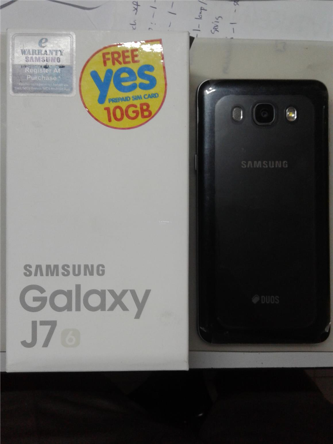 Samsung J7 2016 New set black color Original Samsung