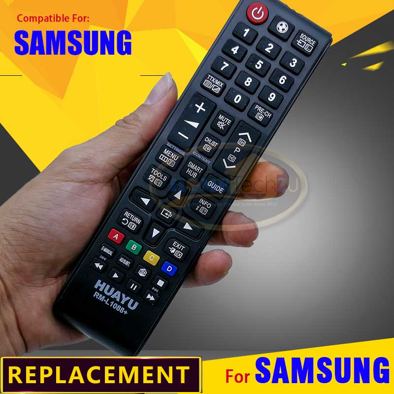 Samsung LCD/LED TV Remote Control Replacement -RM-L1088+. ‹ ›