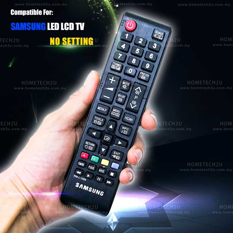 SAMSUNG LED LCD TV REMOTE CONTROL REPLACEMENT RM-L1088