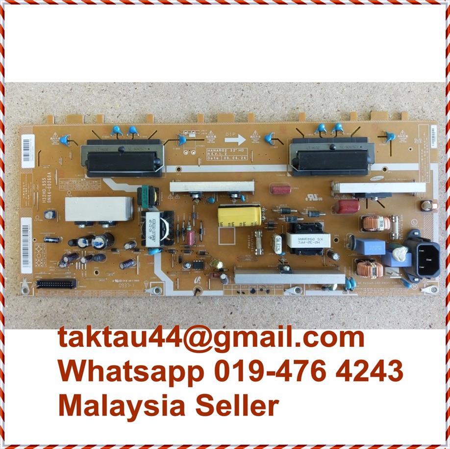 Samsung LED TV Power Board BN44-00260A H32HD-9SS