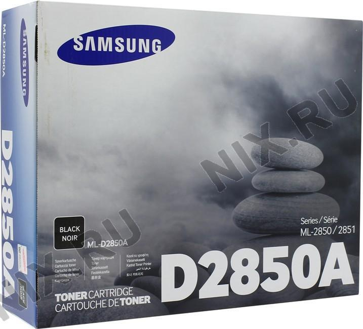 SAMSUNG ML-D2850A Black Toner (Genuine) ML-2850D ML-2851ND 2850A 2850