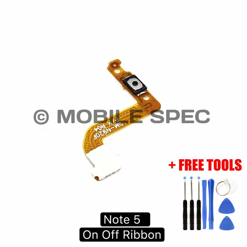 SAMSUNG NOTE 2 3 4 5 ON OFF POWER BUTTON FLEX CABLE RIBBON