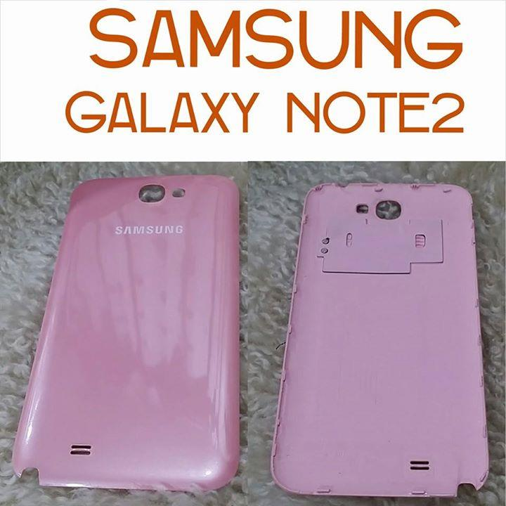 Samsung Note 2 N7100 PINK NFC battery cover door