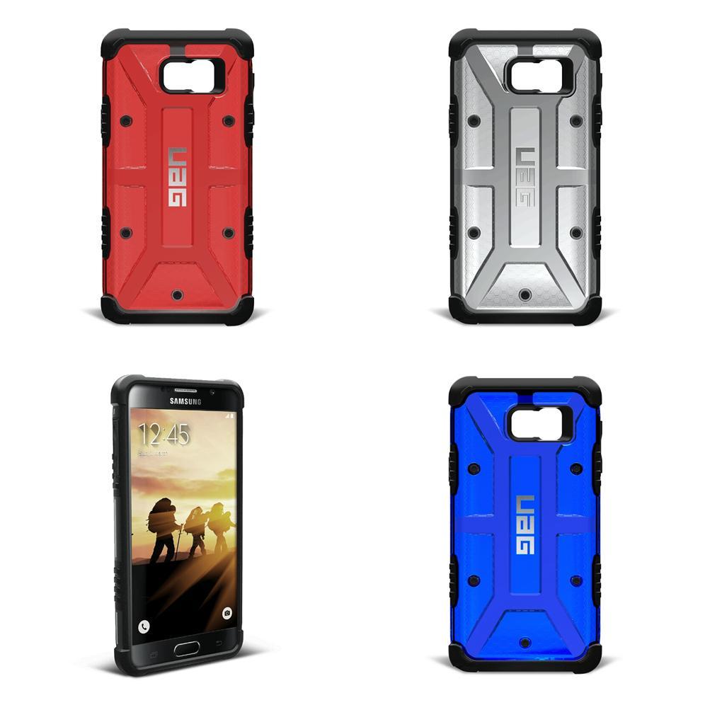 size 40 325e8 11d61 Samsung Note 5 Ash Red Blue UAG Urban armour gear Transparent case