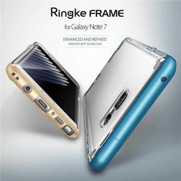 quality design 7e06f 42a3b Samsung Note 7 Note FE Fan Edition - Rearth Ringke Frame Case