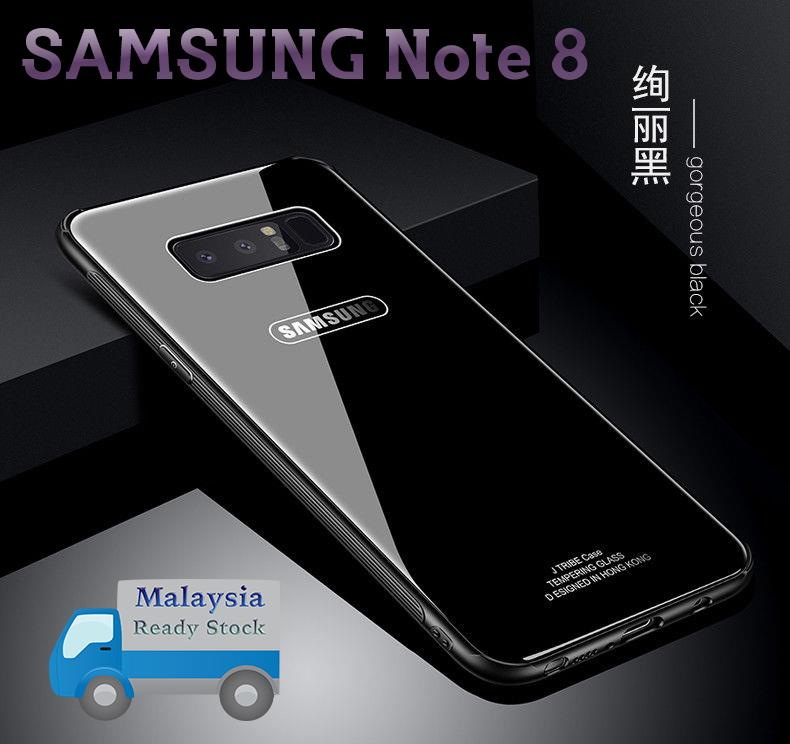SAMSUNG Note 8 Case Cover Tempered Glass