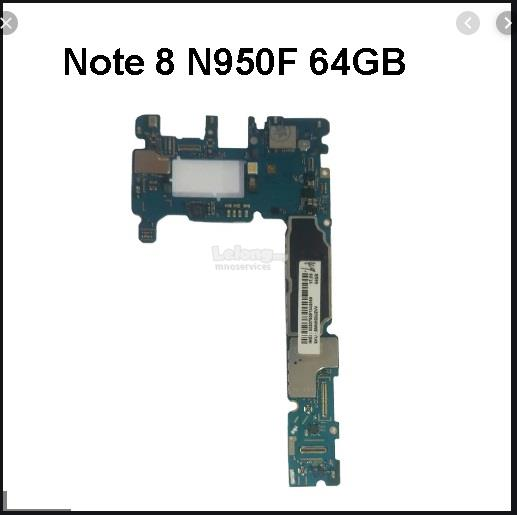 Samsung Note 8 Note8 N950F Motherboard MainBoard Main Board 64GB