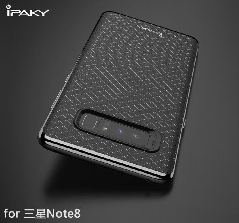 premium selection d311f 738f7 Samsung Note 8 Original iPaky Chrome Neo Hybrid Case Cover