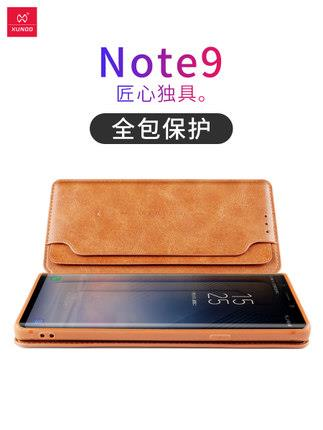 Samsung note 9 leather case cover