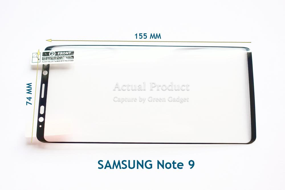 SAMSUNG Note 9 Screen Protector TPU Soft (2 Pcs)