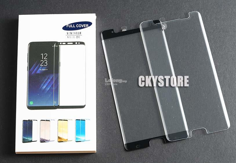 SAMSUNG Note FE 3D Mini SIZE Coverage Tempered Glass