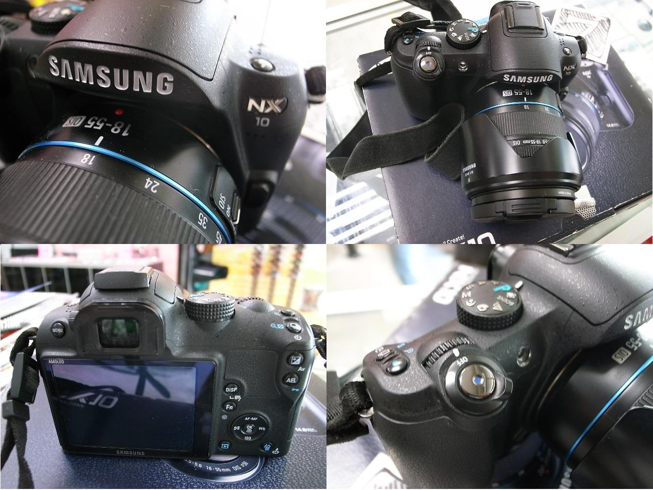 Samsung NX10 14.6MP 3in LCD DSLR Camera 18-55mm Lens Rm880
