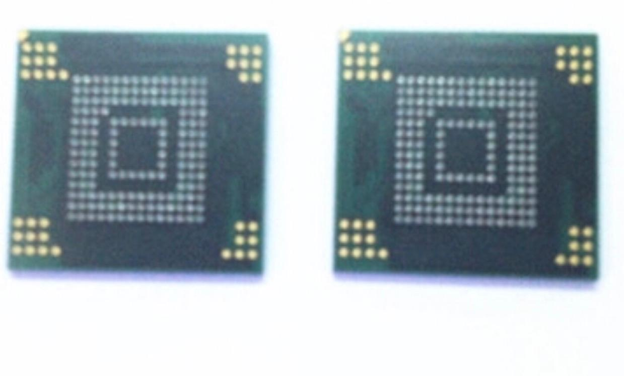 Samsung P3100 eMMC memory nand flash chip IC 8GB with firmware
