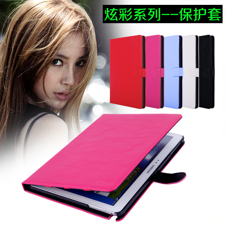 Samsung P600 SM-P601 P600 leather note10.1 2014 Case Casing Cover