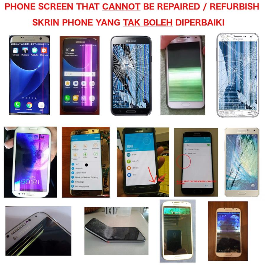 Samsung Phone LCD Repair Subang Jaya Sunway Pyramid-Outer Glass Repair