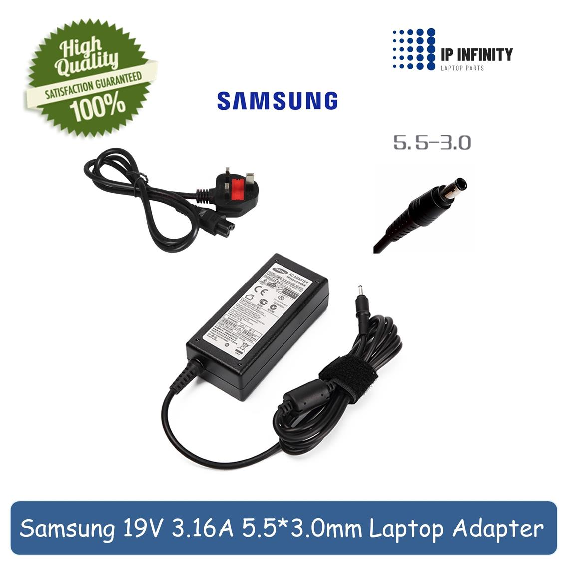 Samsung RV515 RV520 CPA09-004A PSCV600/04A Power Adapter Charger