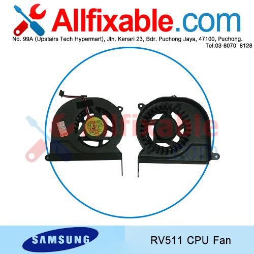 Samsung RV520 RC410 RC420 RC510 RC520 Series cpu cooling fan