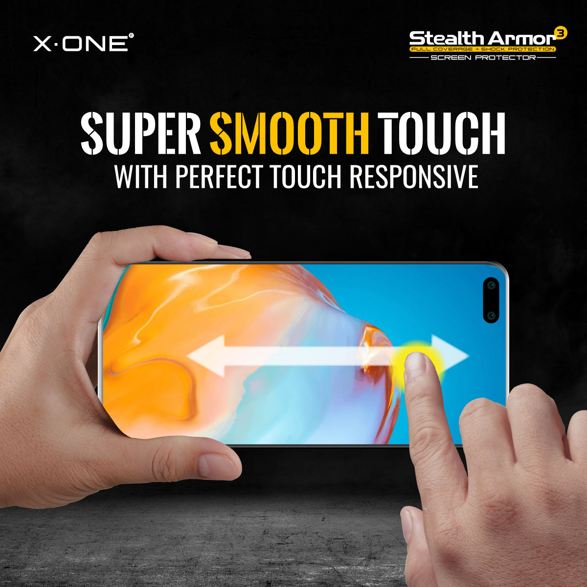 Samsung S20 FE X-One Stealth Armor 3 Clear / Matte Screen Protector