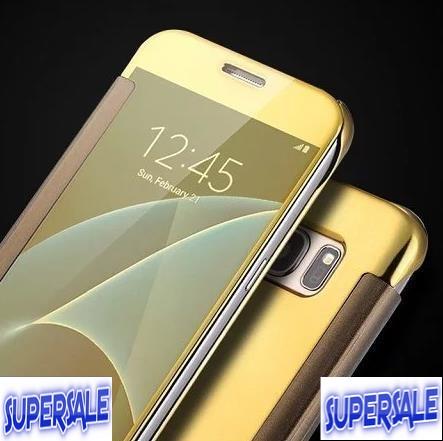 wholesale dealer 934b7 1adf1 Samsung S7 Edge Flip Mirror Casing Case Cover