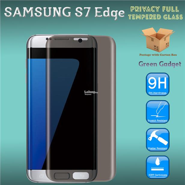 SAMSUNG S7 Edge Privacy Full Cover 3D Tempered Glass Screen Protector