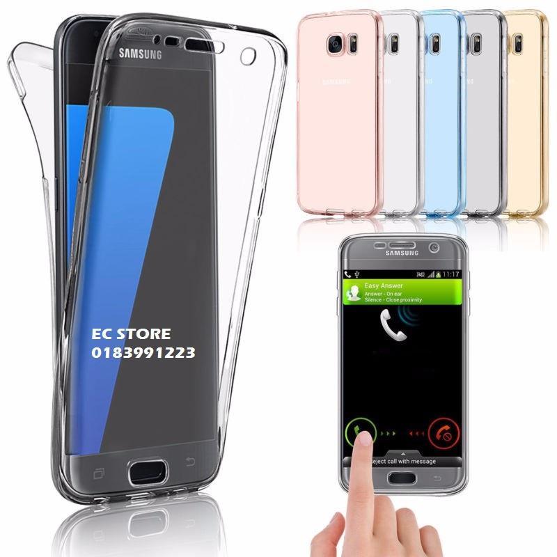 half off f5ff1 d3ba6 Samsung S7 Edge S8 S8+ S9 S9+ Plus 360 TPU Silicon Transparent Case