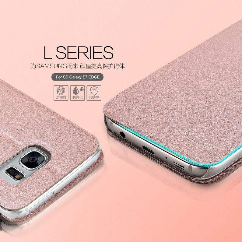samsung s7 edge case flip leather