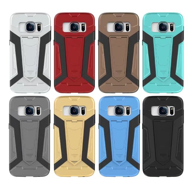 samsung s7edge sm-G9350 Stand Armor Back Case Cover Casing