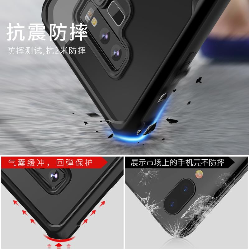 Samsung S8/S8+/Note8/S9/S9+/Note9 Tempered Glass case