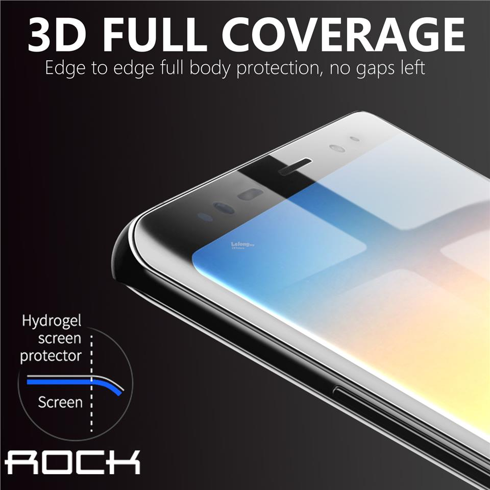 Samsung S8 S9Plus Note8 9 ROCK 3D Curved Hydrogel Screen Protector