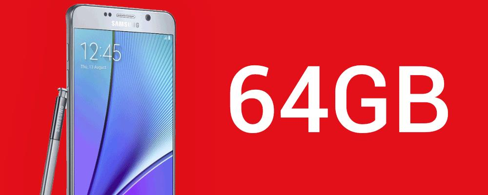 SAMSUNG Samsung Note 5 64GB (Limited Stock)