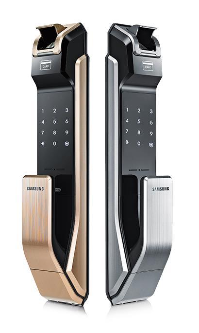 SAMSUNG SHS P718 fingerprint card pin key Digital Door Lock