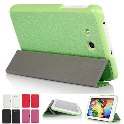 outlet store 9b284 ee4ee Samsung sm-t111 leather t110 tab3 lite7.0T113 Case Casing Cover